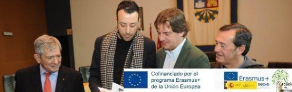 Los socios italianos del Proyecto Erasmus+ 'Escuela de Familias' visitan Fuenlabrada
