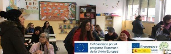 El CEIP Antonio Machado recibe a la delegación italiana de 'Escuela de Familias'