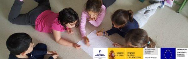 """Paloma Mayordomo, artista MUS-E del CEIP Jardín de Arena: """"Nuestro objetivo es que los niños y las niñas vean divertido saber escribir, hablar y leer para comunicarse bien"""""""