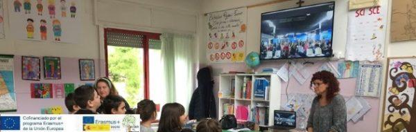 Proyecto Erasmus + 'Escuela de Familias': Conexión vía Skype Fermo-Fuenlabrada