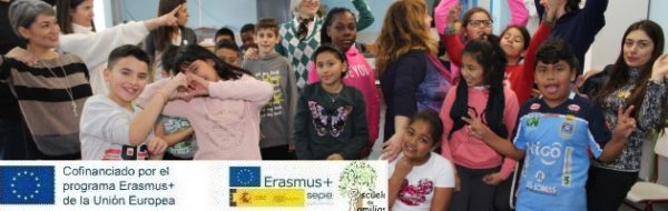 Un resumen visual del 'Encuentro Erasmus + 'Escuela de Familias'', celebrado en Fuenlabrada