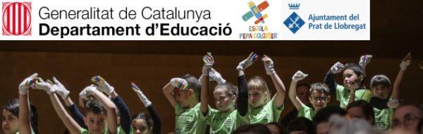 Olga Ponce, artista MUS-E, presente en el Auditorio de Barcelona con la Escola Pepa Colomer y su proyecto Entrecordes