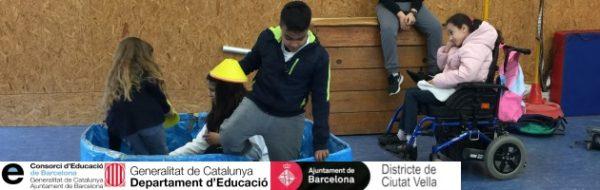 MUS-E en la Escola Mediterrània: los alumnos interiorizan la actividad de Teatro y crecen con ella