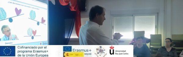 'Arte por la Convivencia': sesiones de la URJC en el CEIP Francisco Tomás y Valiente y el CEIP Valdemera para entender cómo funciona el cerebro en el aprendizaje y en el día a día
