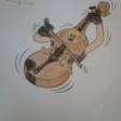 Violines por la Paz dibujados por las niñas y niños del CPEE Sor Juana Inés de la Cruz de Fuenlabrada.
