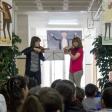 Violinistas en el Día MUS-E 2016 del CEIP Barriomar 74 de Murcia, celebrando el Centenario de Menuhin.