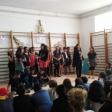 Violines por la Paz con los niños y niñas de la Escola Mare de Déu del Mont de Girona