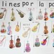 Violines por la Paz del CEIP Francisco Parras de Losar de la Vera, Cáceres