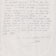 Carta de Sofía Gandarias a Yehudi Menuhin. Por Anabel Domínguez.
