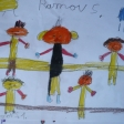 Enviado por Natalia Molina: 'dibujos bonitos y tiernos que muestran un acercamiento a la figura de Menuhin desde los peques'.
