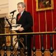 Enrique Barón, Presidente de la FYME, inauguró el concierto.