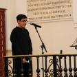 Un alumno del CEE Los Ángeles de Badajoz abrió el espectáculo con unas palabras dedicadas a Menuhin.