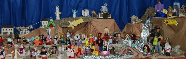 Belén navideño del CEIP Lope de Vega, 2014