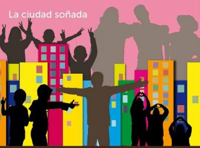 Cartel de la exposición La Ciudad Soñada