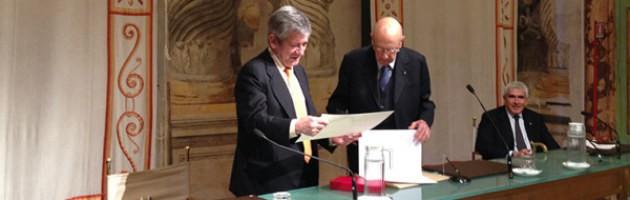 Enrique Barón recibe la distinción Ordine della Stella d'Italia