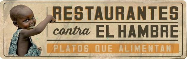 Restaurantes contra el Hambre, Platos que Alimentan. Campaña 2015.
