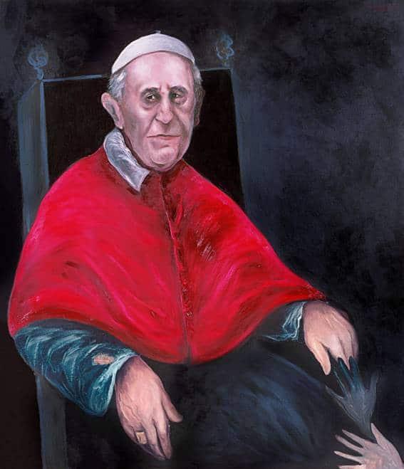 Papa Francisco por Sofía Gandarias