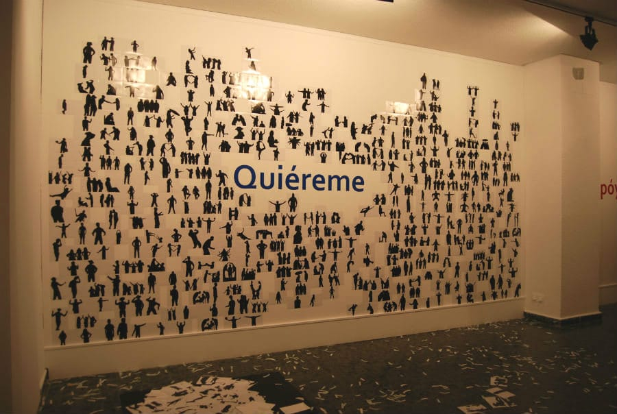 """Imagen de la exposición """"La ciudad soñada"""", del proyecto Educ-Arte del Ayuntamiento de Leganés."""