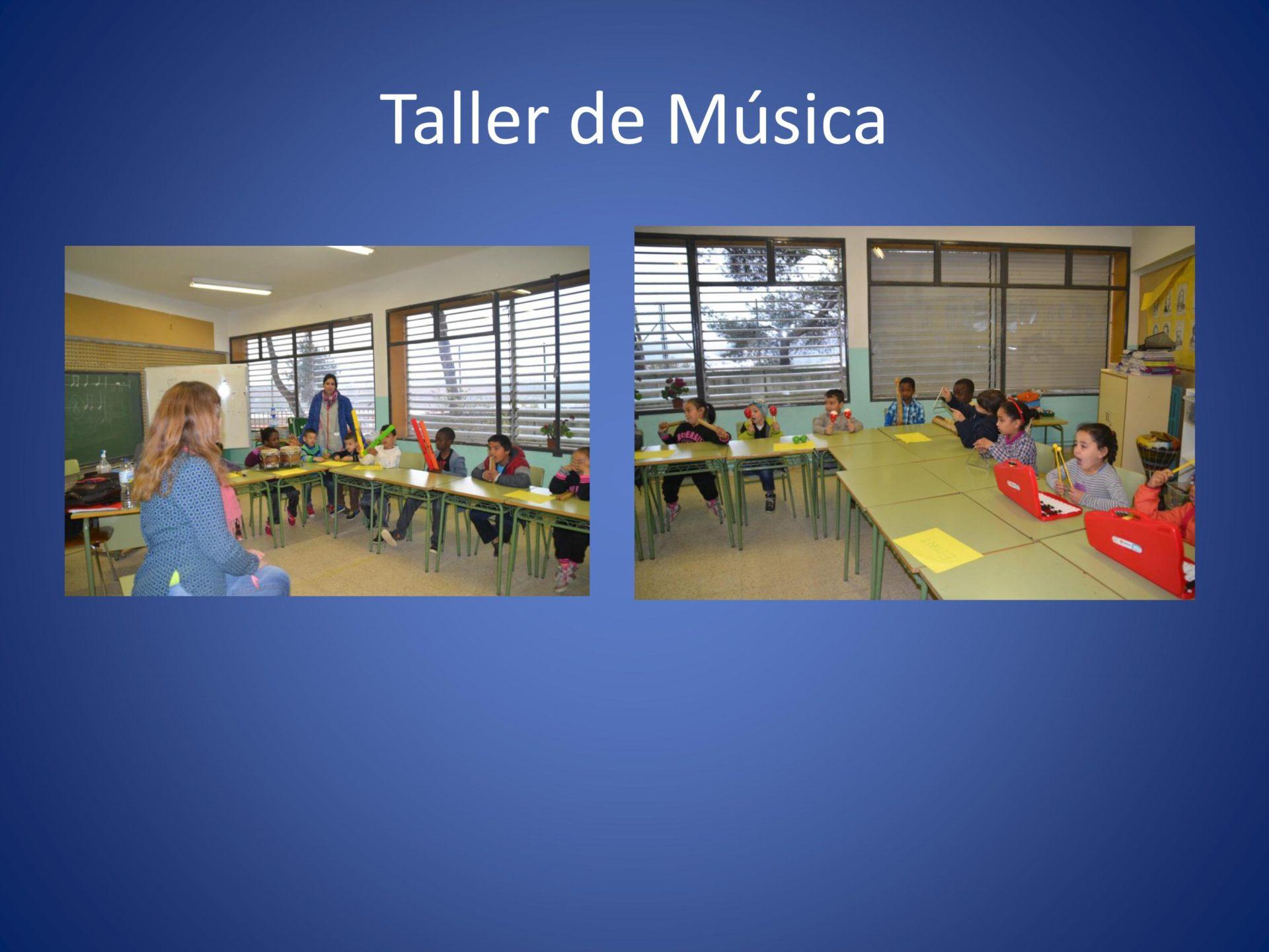 Día MUS-E 2016 en la Escola Joan Maragall de Sabadell