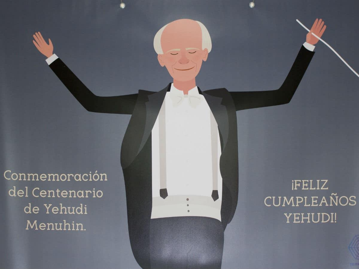 El CEIP Barriomar 74 de Murcia celebró el 100º cumpleaños de Yehudi Menuhin en su Día MUS-E 2016.
