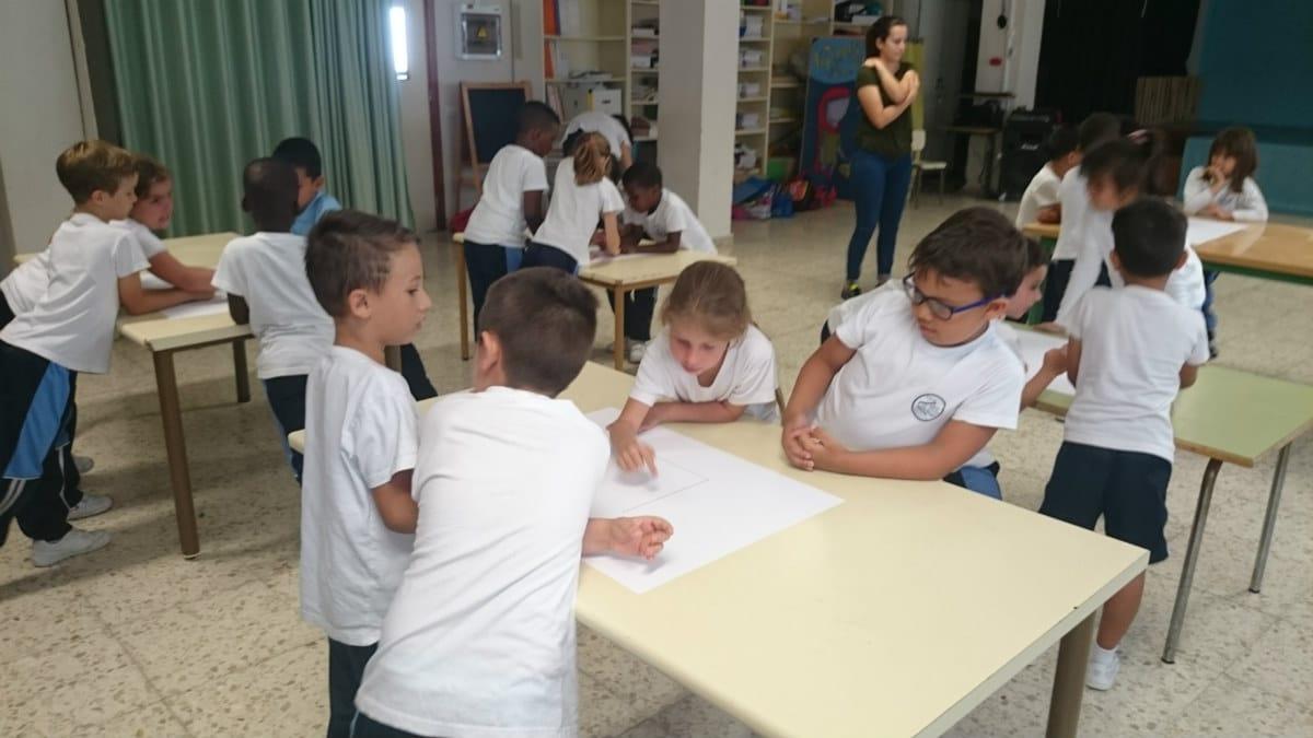 Curso MUS-E 2015-2016 en el CEIP Nieves Toledo de Arrecife, Lanzarote.