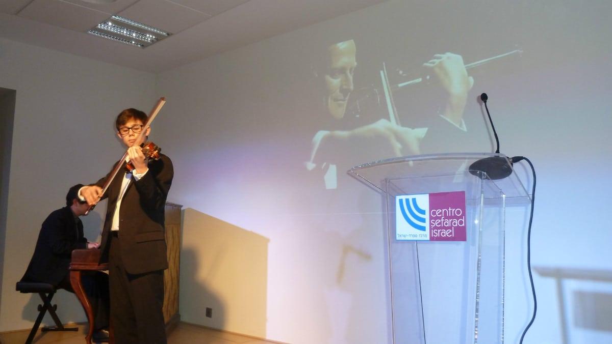 Concierto 'Vidas que dejan huella' en el Centro Sefarad Israel