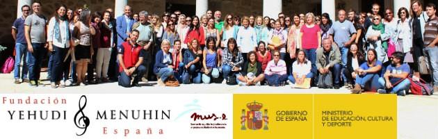 Foto de familia del XVIII Encuentro MUS-E Magalia 2016