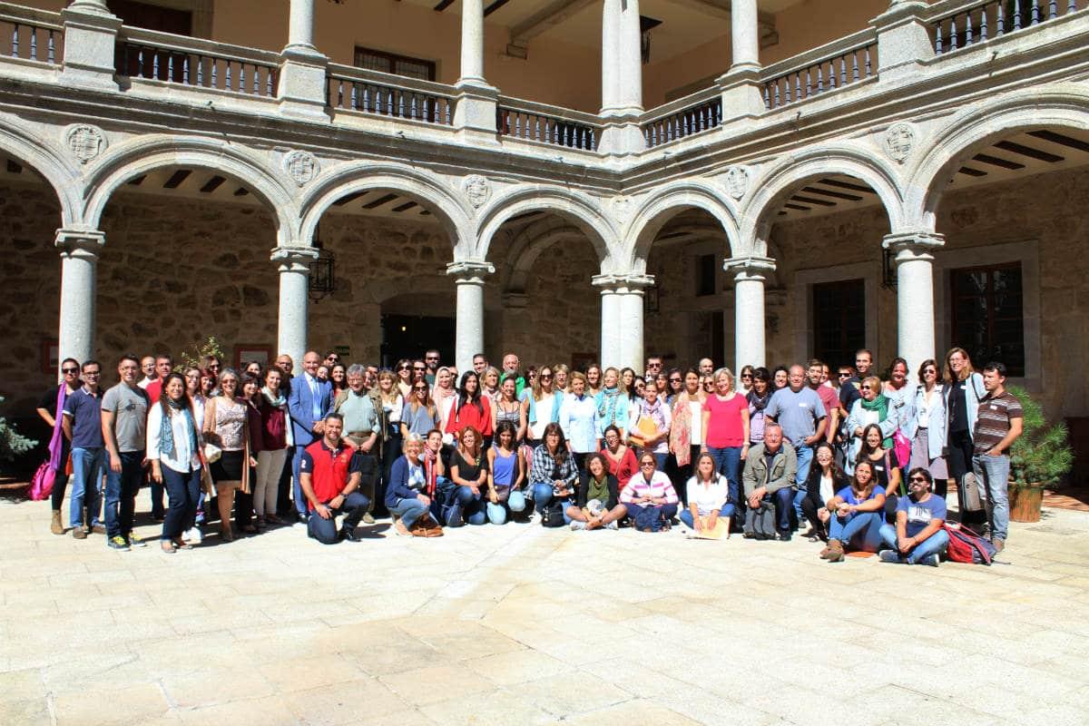 Foto de familia del Encuentro MUS-E Magalia 2016