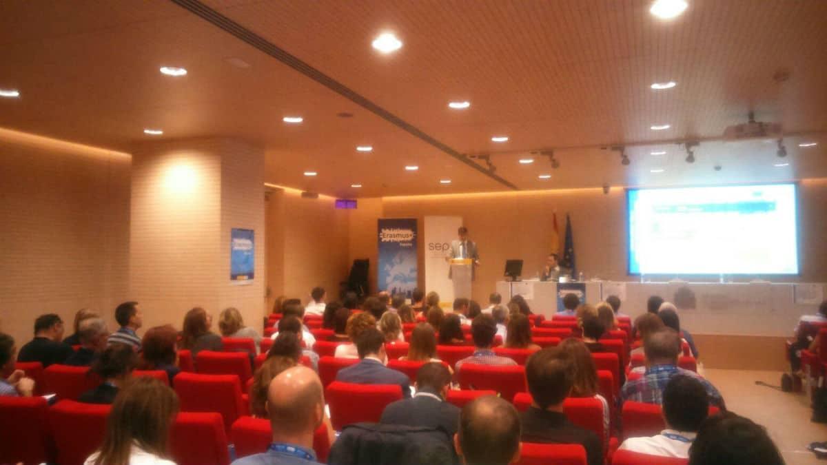 Presentación de proyectos europeos 2016 en la sede del Sepie, el pasado 21 de septiembre.