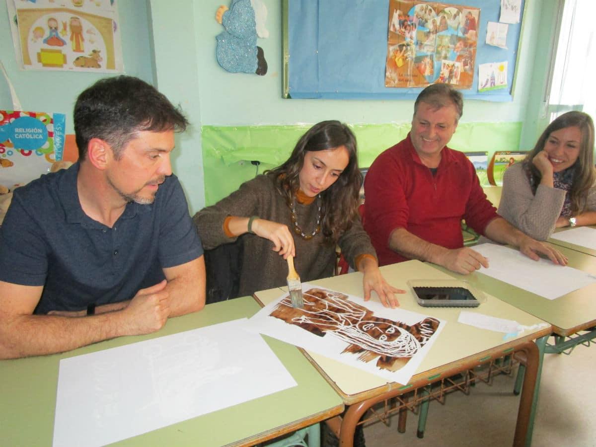 Sesión De Formación Para Docentes En El Ceip Calderón De La Barca De Leganés Fundación Yehudi Menuhin España