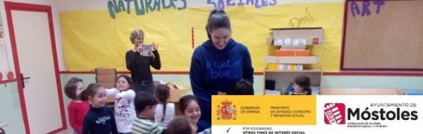 Derechos Humanos y Día Universal de la Infancia en el CEIP Leonardo Da Vinci (Móstoles)