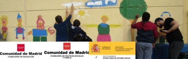 Espacio Escuela Arte: murales en los centros educativos con motivo del 20º aniversario de la FYME