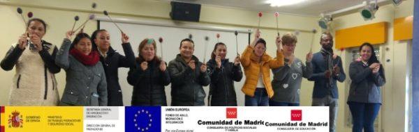 Las mamás y los papás se suben al escenario en el CEIP Séneca para trabajar por la igualdad de género y la resolución de conflictos