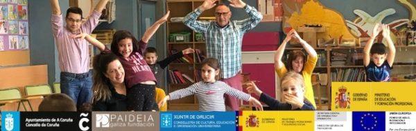 Actividad para las familias en el CEIP Ría do Burgo