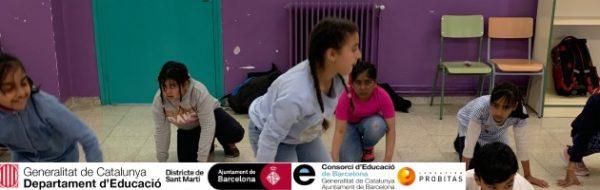 Danza en la Escola Concepción Arenal para su 50º aniversario