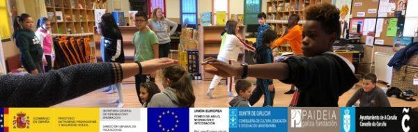 El MUS-E fortalece las ganas de ir al aula en la diversidad del CEIP Raquel Camacho