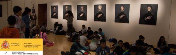 Arte en Escena: taller del CEIP Francisco de Goya en la exposición 'Homenaje a El Greco'