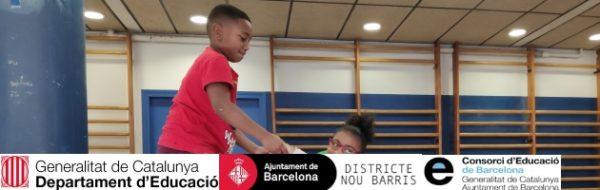 El Circo para la igualdad de género en la Escola El Turó y en la Escola Àgora