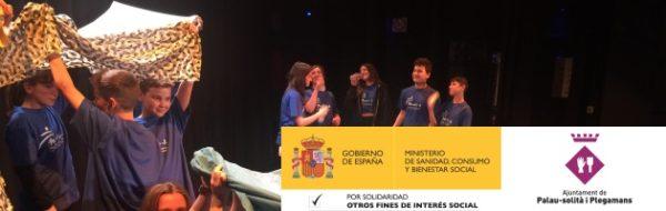 Programa MUS- E: el Institut Ramón Casas i Carbó representa la obra ¡Tenim drets! (¡Tenemos derechos!)