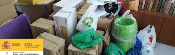 El IES Rusadir más solidario: campaña de recogida de material sanitario, de higiene y material escolar