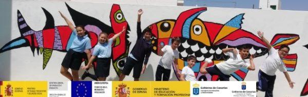 Homenaje a César Manrique en el CEIP Nieves Toledo
