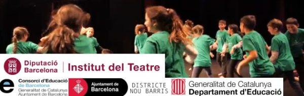 Encuentro entre la Jove Cia de Dansa ITDansa, del Institut del Teatre, y los alumnos de 3º y 4º de la Escola Splai (Nou Barris)