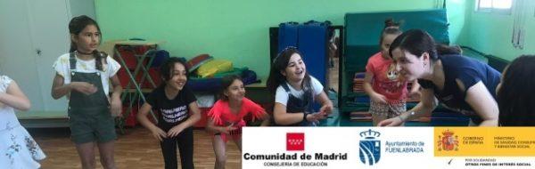EnredArte Derechos Humanos en el CEIP Rayuela: Danza para defender a la infancia