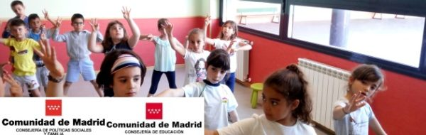 Primer año de Teatro MUS-E en el CEIP José de Echegaray