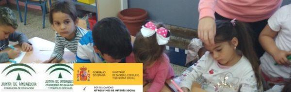 SolidarizArte: trabajo intergeneracional, trabajo en equipo. Los niños y niñas del CEIP Andalucía se convierten en maestros de los más pequeños