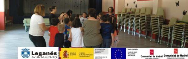 El MUS-E viene muy bien a todos y a todas en el CEIP Lope de Vega (Leganés)