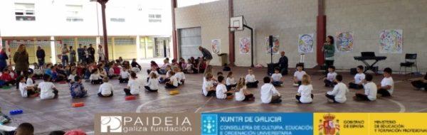 Retrospectiva: unas imágenes del Día MUS-E en el CEIP San Pedro Visma