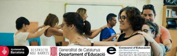 Formación de docentes Distrito de Nou Barris en la Escola Prosperitat