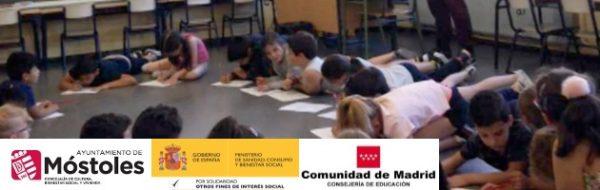 Campaña 'EnredArte' Móstoles: a golpe de música y latidos para defender los DD.HH en el CEIP Joan Miró