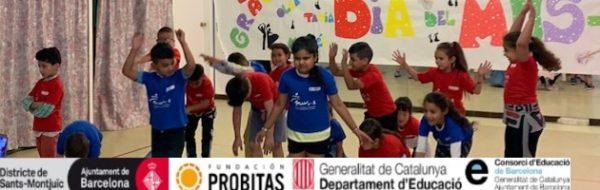 Danza MUS-E en la Escola Cal Maiol: trabajo de las distintas motivaciones, respeto y altos niveles de motivación